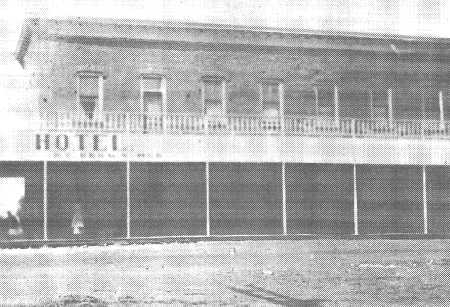 Rare photo of Brown Hotel