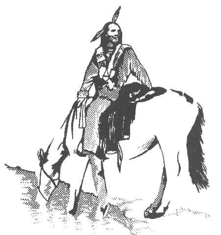 Comanche Indian Drawing