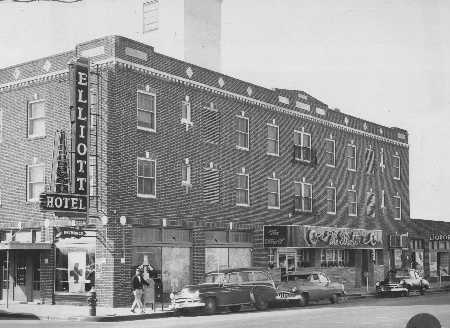 Elliott Hotel in 1927