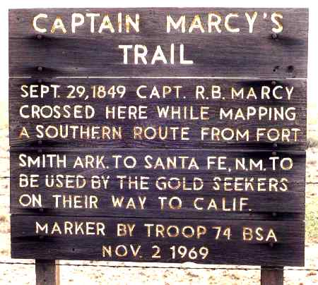 Marker by Troop 74