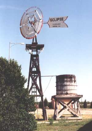 Historic Windmill located west of the auditorium